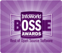 Winner of 2009 BOSSIE for Open Source ERP