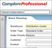 ERP software demo - ERP Warehouse Management